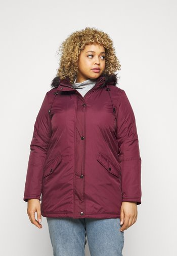 VALUE  - Klassinen takki - plum