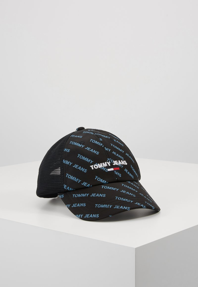Tommy Jeans - SPORT TRUCKER - Czapka z daszkiem - black