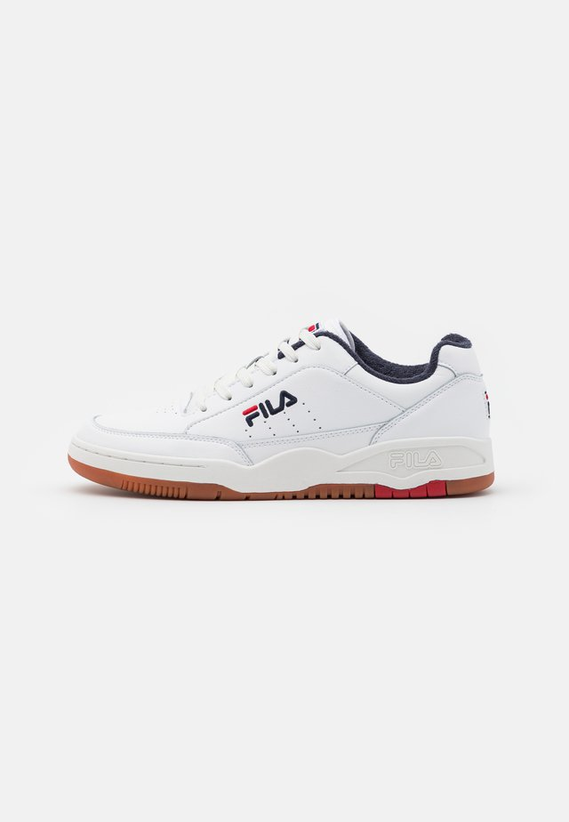 TOWN CLASSIC - Sneakers laag - white/red
