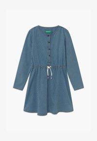 Benetton - ONLINE GIRL - Denim dress - blue denim - 0