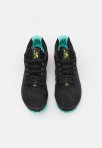 Reebok - NANO X1 GROW - Sports shoes - core black/pursuit pink/pixel mint - 3