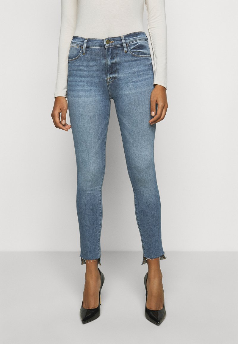 Frame Denim - LE HIGH RAW STAGGER - Jeans Skinny Fit - westway