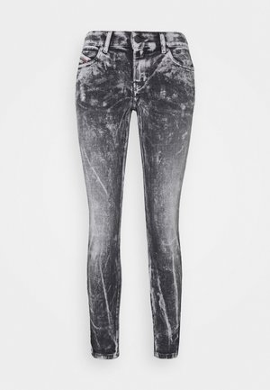 D-JEVEL - Jeans Skinny Fit - black/white