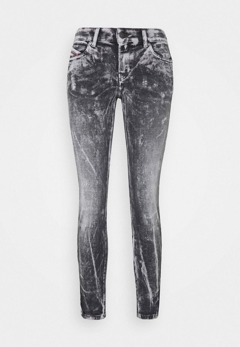Diesel - D-JEVEL - Jeans Skinny Fit - black/white