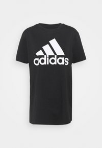 adidas Performance - T-shirts med print - black/white - 3