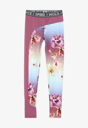 OLYMPIA - Leggings - hibiscus rainbow