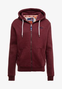 buck burgundy marl
