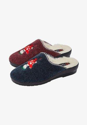 2 PACK - Slippers - blau,rot