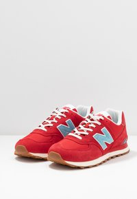New Balance - 574 - Trainers - red - 2