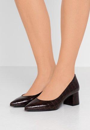 CULINA - Classic heels - dark brown