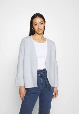 ONLPIMMIE OPEN CARDIGAN - Cardigan - cashmere blue/ melange