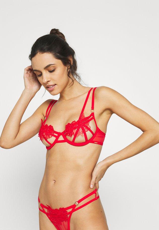 TEMPEST BRA - Kaarituelliset rintaliivit - red