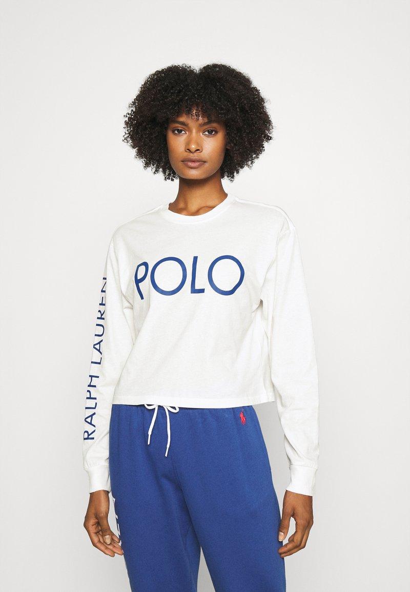 Polo Ralph Lauren - LONG SLEEVE - Long sleeved top - deckwash white