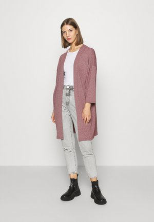ONLDIANA LONG CARDIGAN  - Gilet - pomegranate