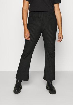 KICKFLARE - Leggings - Trousers - black