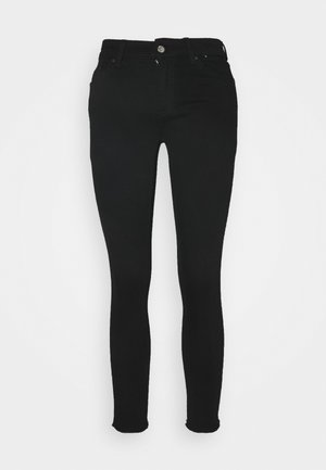 ONLBLUSH LIFE RAW - Skinny džíny - black denim
