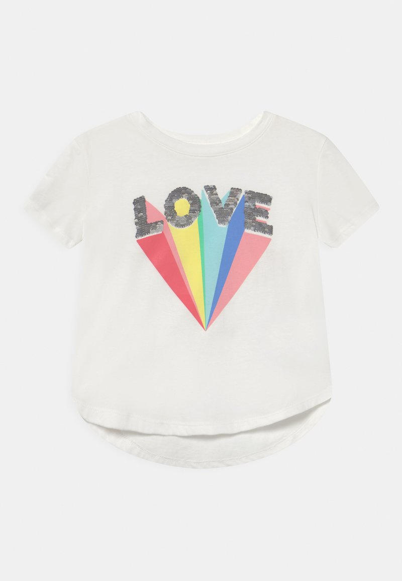 GAP - GIRL - Print T-shirt - new off white