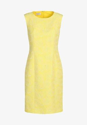 Vestido de tubo - gelb