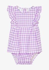 Carter's - DRESS GINGHAM - Vestido de cóctel - purple - 3