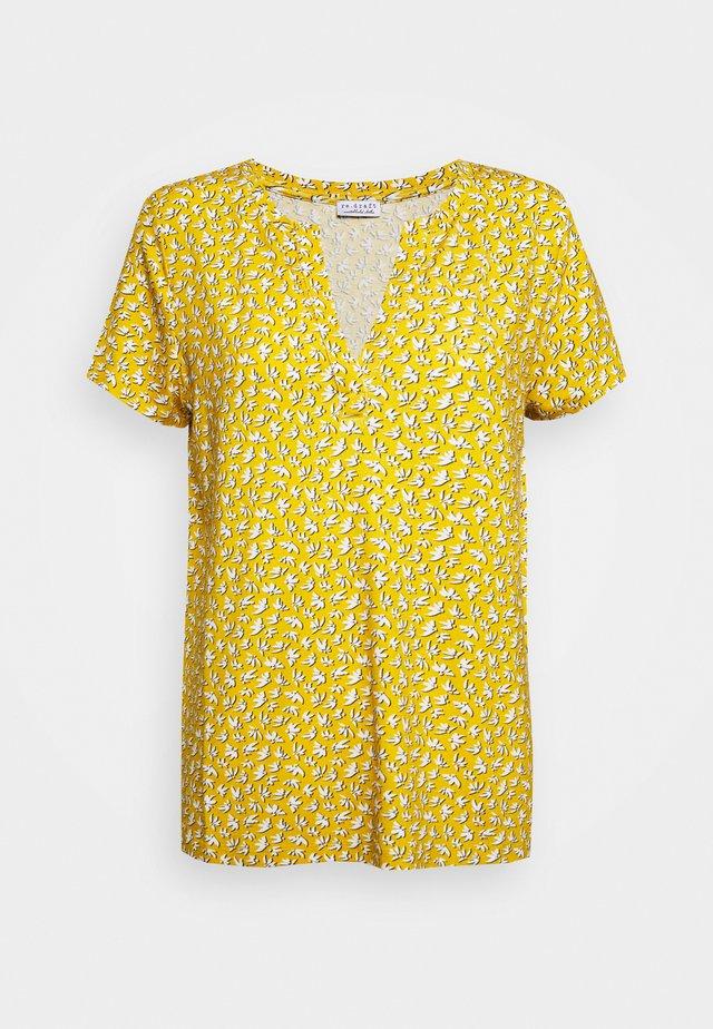 T-shirt imprimé - gold