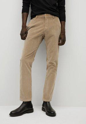 BERDAM - Trousers - beige