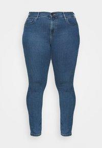 Levi's® Plus - 721 HI RISE SKINNY - Jeans Skinny Fit - bogota heart - 4
