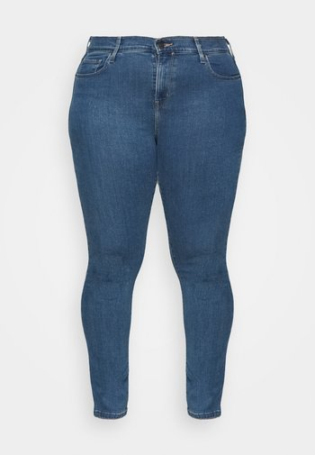 721 HI RISE SKINNY - Jeans Skinny Fit - bogota heart