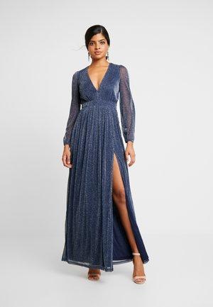 SHIMMERY MAXI GOWN - Společenské šaty - dark blue