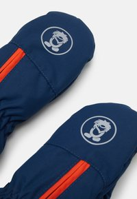TrollKids - KIDS TROLL MITTEN UNISEX - Wanten - mystic blue/orange - 3