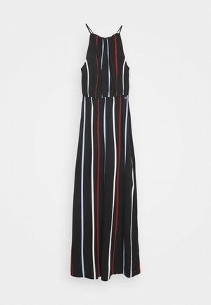 TROPICAL  - Maxi dress - black/blue/rust