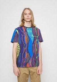 Carlo Colucci - MULTIPACK SET - Print T-shirt - navy - 6