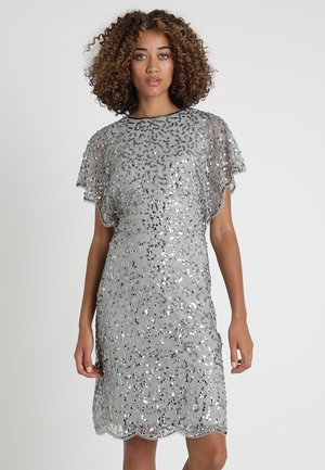 Cocktail dress / Party dress - blue grey