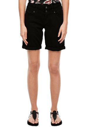 BERMUDA - Short en jean - black