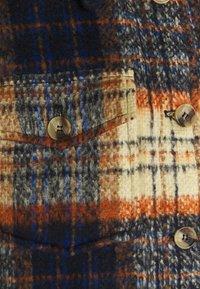 Topshop - CHECK SHACKET - Light jacket - orange - 2