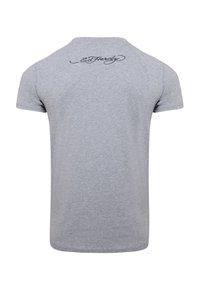 Ed Hardy - TIGER-GIANT T-SHIRT - Print T-shirt - grey marl - 3