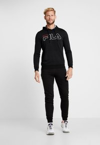 Fila - WILLIAM - Felpa con cappuccio - black - 1
