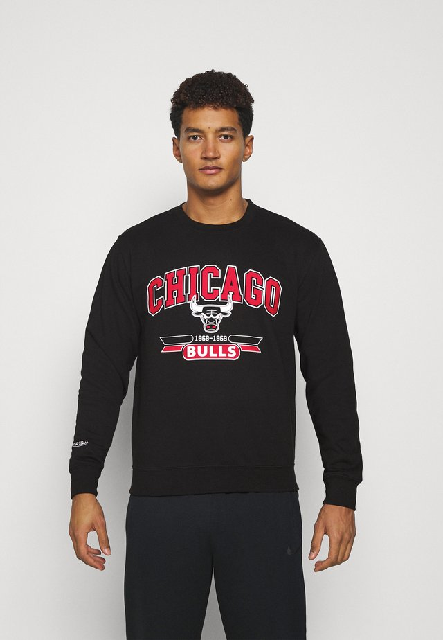 NBA CHICAGO BULLS ARCH LOGO CREWNECK - Squadra - black