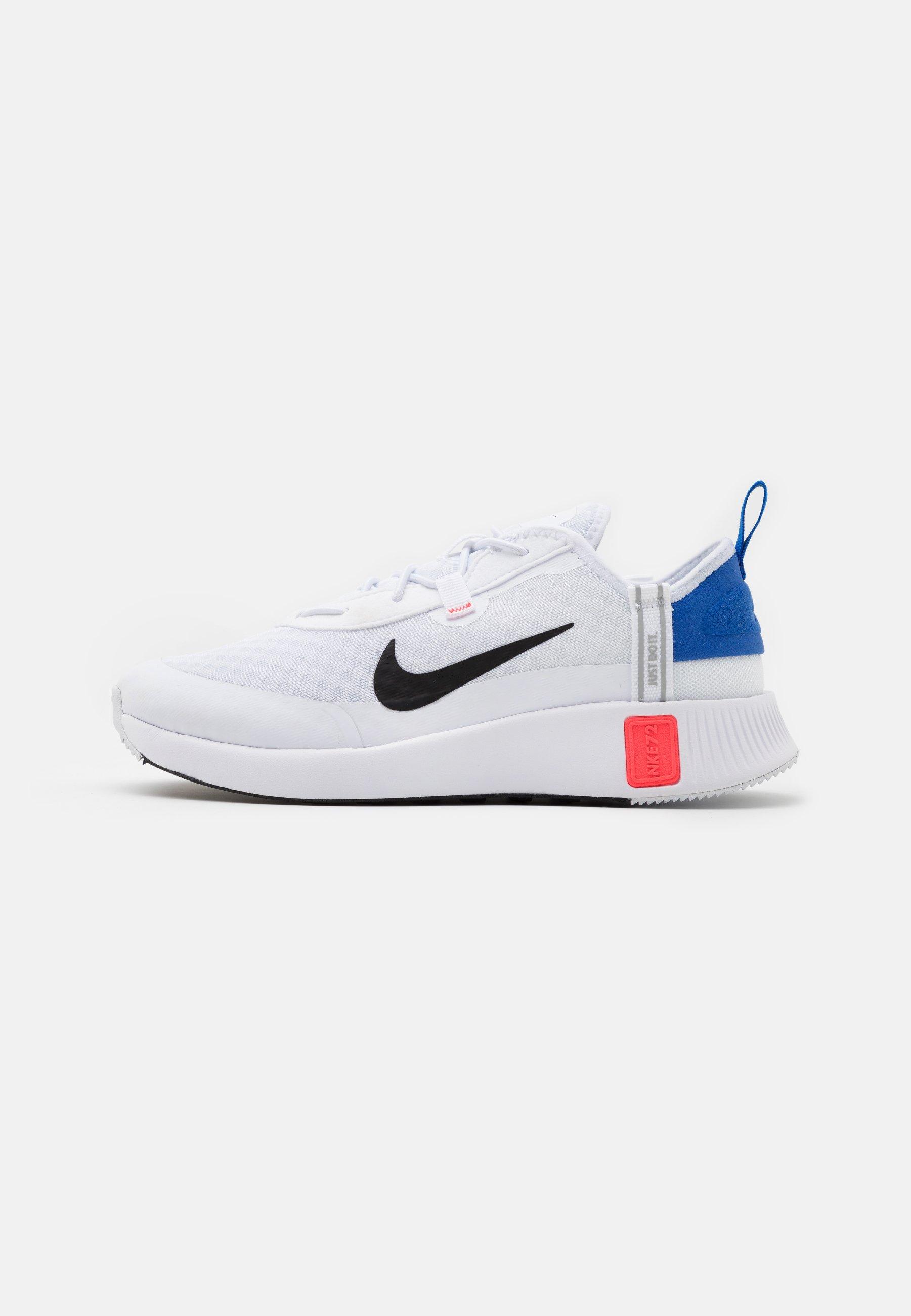 Nike Sportswear Reposto Unisex Trainers White Black Flash Crimson Game Royal White Zalando Co Uk