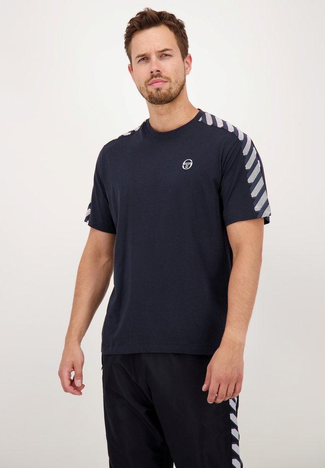 ALDWIN - T-shirt imprimé - anthracite