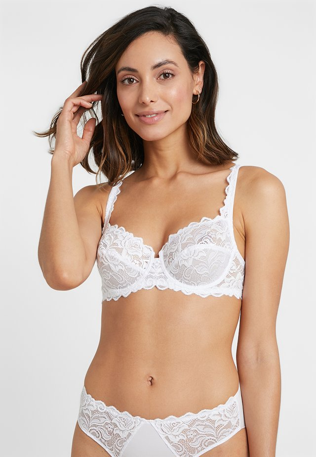 EGLANTINE CLASSIC UNDERWIRED BRA - Underwired bra - white