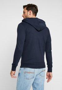 TOM TAILOR DENIM - CUTLINE  - Zip-up hoodie - sky captain blue - 2