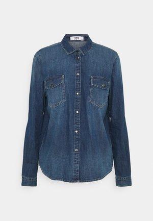 JDYSOLIMA LIFE SHIRT - Skjorta - medium blue denim