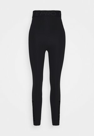 Tights - black/dark smoke grey