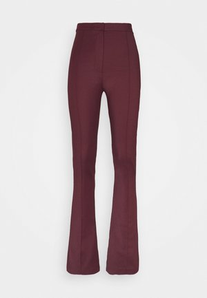 FLARED TROUSERS - Bukse - violet swan