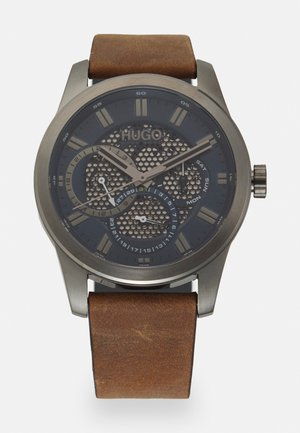SKELETON - Watch - brown/blue