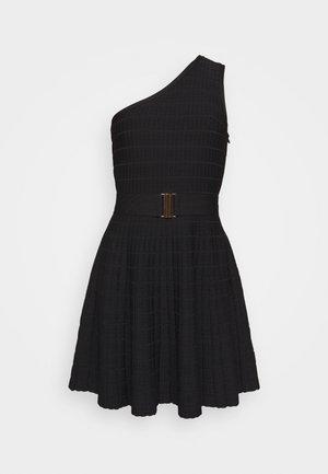MONIC - Sukienka dzianinowa - noir