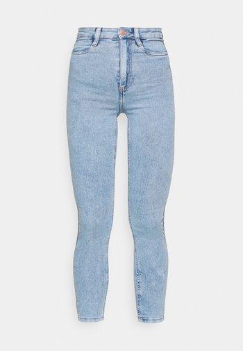 ULTRA HIGH SUPER STRETCH - Jeans Skinny Fit - lennox blue