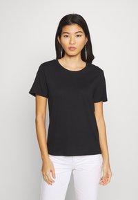 Anna Field - 2 PACK - Print T-shirt - black/multicoloured - 3