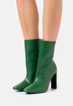 ALEENA - High heeled ankle boots - green