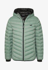 Hollister Co. - PUFFER SAGE - Down jacket - sage - 4